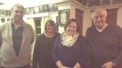 Paul Harford, Fiona Smith, Lesley Barry, Chris Shawyer
